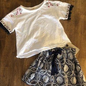 Zara girls outfit